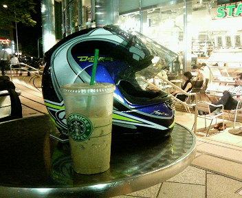 ひさしぶりに夜更かしバイク